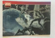 "Autographed Star Wars Galaxy Card #96 signed Jeremy ""Boba Fett"" Bulloch"