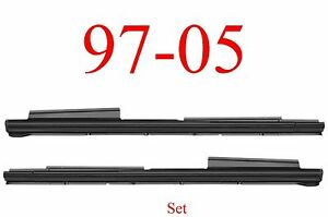 97 05 Chevy Venture Extended Rocker Panel Set, Montana, Silhouette Both Sides!