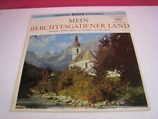 VINTAGE MEIN BERCHTESGADENER LAND ALFONS BAUER BAVARIAN POPULAR MUSIC (648)