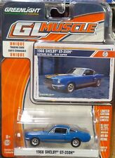 Green Light GLMuscle *Series 12* 1966 Shelby GT-350H Sapphire Blue