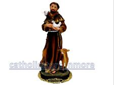 "SAN FRANCISCO DE ASIS /Francis of Assisi 9"" STATUE - 13020-9 NEW IN BOX"