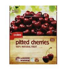 Coles Frozen Pitted Cherries 500g