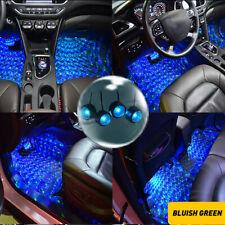 LED Car Interior Atmosphere Neon Lights Strip Music Control Floor Decor Light EA