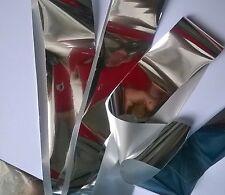 Pure silver transfer nail art foil - 1 meter
