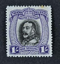 COOK ISLANDS, KGVI, 1936, 1s. black & violet value, SG 112, MM, Cat £22.