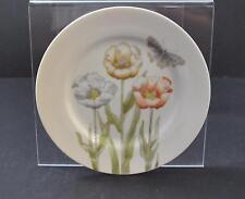 "Vintage Fitz & Floyd Inc Pastel Poppy White 1976 Japan Salad Plate 7 1/2"" R27"