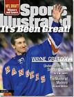 April 26, 1999 Wayne Gretzky New York Rangers Sports Illustrated NO LABEL