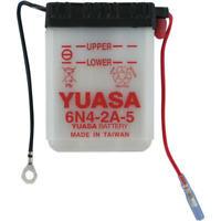 Yuasa Battery Conventional Battery 6N4-2A-5 fits Yamaha