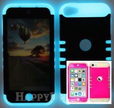 For Apple iPod Touch iTouch 5 | 6 - KoolKase Hybrid Cover Case - Hot Pink (FL)