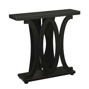 Convenience Concepts Newport Hailey Console Table, Espresso - 121299