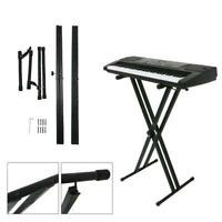 Adjustable X Style Piano Bench Keyboard Stool Chair W
