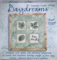 Dimensions Live Simply Daydreams Harmony Glass Counted Cross Stitch Kit 72604