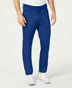 Attack Life by Greg Norman Slim Fit Performance Pants Cobalt Blue