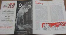 Vintage 1958 Australia Travel Brochure - Your Sydney Holiday