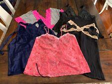 Lot of Lingerie, Babydoll, Teddy, 5 Pieces L Victoria's Secret, Natori, Etc.
