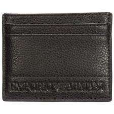 Emporio Armani credit card holder men Y4R125YSL5J81072 BLACK wallet