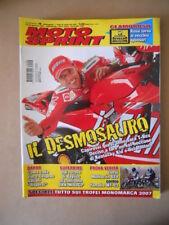 MOTOSPRINT n°4 2007 LORIS CAPIROSSI DESMOSEDICI DUCATI [MS8]