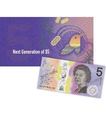 Next Generation RBA $5 Banknote Commemorative Folder 2016 Australian Currency