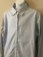BROOKS BROTHERS 346 Non-Iron Men's Cotton Long-Sleeve Button Down Shirt Size 16