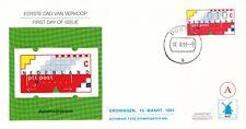 Philato FDC W87A - Boxtel - Blanco / Open klep
