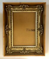 Late 19th Century Victorian Gilt Wood and Gesso Rococo Style Picture Frame