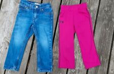 Under Armour Girl's Pink & Black Pants. SIze 2T