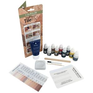 Tile Stone Granite Porcelain Patching Repair Kit w/ Putty 8 Pigments Multi Color