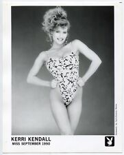 Playboy - Playmate Kerri Kendall 1990 - Pin Up - 2 Photos Argentiques - Sexy -