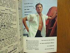 2/18/1961 TV  Guide (GEORGE  MAHARIS/JACKIE  GLEASON/ROUTE  66/MAUREEN  ARTHUR)