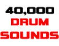 4GB Drum Soundss Rap Samples Akai  MPC x 1000 500 2000 2500 3000 MPD MV 8000
