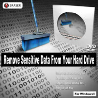 Completely Remove Erase Delete Sensitive Data From Hard Drive For Windows PC DVD