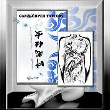 """Tattoovorlagen   A3 Buch """"Ganzkörper """"  Traditionell Chinesische Vorlagen Flash"""