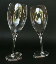 Flutes à Champagne 'Melted ' par Maarten Baas pour Dom Ruinart x2 SIGNEES RARES