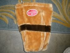 """Spalding Brown /tan Soft Bag with spot for 2 items 9"""" X 16"""" Golf"""