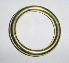 "O  Ring 1 1/4"" Solid Brass O Ring"