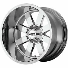 4 - 18x9 Chrome Moto Metal MO962 Rim 6x5.5 (6x139.7) +0 Offset MO96289068200