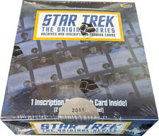 Rittenhouse Star Trek TOS Archives Inscriptions Factory Sealed Trading Card Box