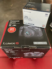 Panasonic Lumix DMC-G7K Camera In box with 14-42mm Lens and 25mm Portrait Lens