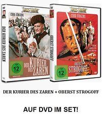 Der Kurier des Zaren + Oberst Strogoff (Jules Verne, Curd Jürgens) 2xDVD NEU+OVP