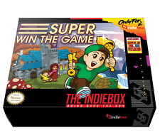 Super Win the Game Indiebox Limited Edition plus Captain Forever Remix
