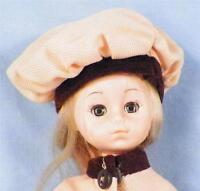 Vintage Vogue Ginny Doll Vinyl Yellow Coat Beret Blonde 1977 Lesney