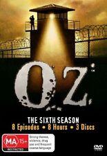 OZ: SEASON 6 = TV Series (DVD, 3 disc-set) Brand New and Sealed