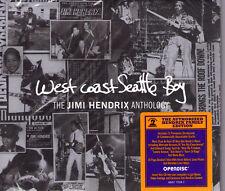 CD DIGIPACK 15T WEST COAST SEATTLE BOY THE JIMI HENDRIX ANTHOLOGY NEUF SCELLE