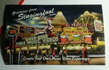 GREETINGS FROM SINGINGFOOL SINGING FOOL MUSIC VIDEO 3.5X5.5 POSTCARD SM POSTER