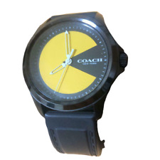 Good Condition Japan not yet released COACH coach Pac-Man Wrist Watch