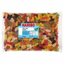 3kg Haribo Mini Jelly Babies Fruit Flavour Party Sweets Candy £14.99 Free P&P