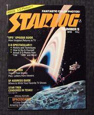 1977 STARLOG Magazine #5 FN- 5.5 Space 1999 Star Trek NO 3-D Glasses