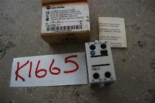 Allen Bradley 100-FBL11 #K1665 Stock de contacto auxiliar