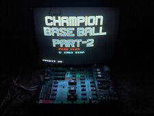 Champion Baseball Part 2 Sega Cpu Circuit Board, Pcb, Boardset, Working