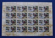 Canada (CN17) 2001 Wildlife Habitat Conservation Stamp Sheet (MNH)